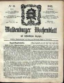 Waldenburger Wochenblatt, Jg. 8, 1862, nr 44