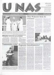 U Nas : miesięcznik jaworzyński, 1997, nr 39