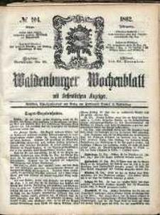 Waldenburger Wochenblatt, Jg. 8, 1862, nr 104