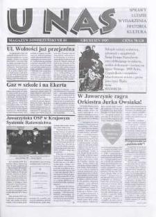 U Nas : miesięcznik jaworzyński, 1997, nr 44