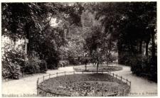 Hirschberg i. Schlesien - Partie a. d. Promenade [Dokument ikonograficzny]