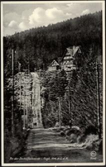Karkonosze - schronisko nad Wodospadem Kamieńczyka [Dokument ikonograficzny]
