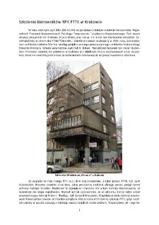 Szkolenie kierowników RPK PTTK w Krakowie [Dokument elektroniczny]