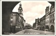 Jelenia Góra - Plac Ratuszowy z Ratuszem [Dokument ikonograficzny]