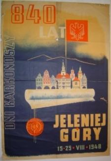 840 lat Jeleniej Góry - Dni Karkonoszy - 15-25 VIII 1948