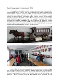 Kwietniowy spacer krajoznawczy 2012 [Dokument elektroniczny]