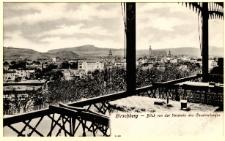 Hirschberg - Blick von der Veranda des Cavalierberges [Dokument ikonograficzny]