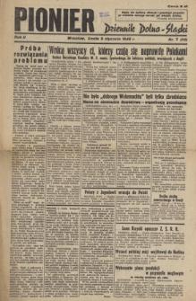 Pionier : Dziennik Dolno-Śląski, R. 2, 1946, nr 7 (111)