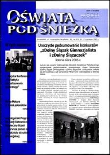 Oświata pod Śnieżką, 2005, nr 1 (9)