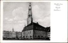 Gryfów Śląski - Rynek - Ratusz [Dokument ikonograficzny]