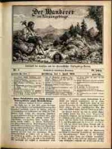 Der Wanderer im Riesengebirge, 1909, nr 4