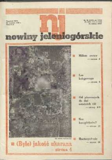 Nowiny Jeleniogórskie : tygodnik PZPR, R. 29, 1986, nr 38 (1152!)