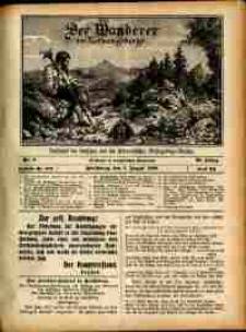Der Wanderer im Riesengebirge, 1909, nr 8