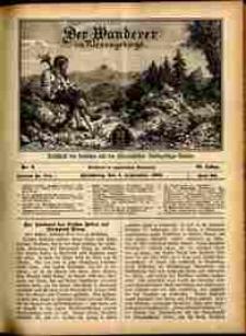 Der Wanderer im Riesengebirge, 1909, nr 9