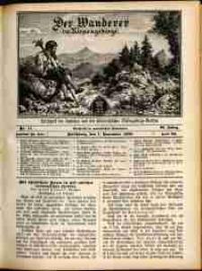 Der Wanderer im Riesengebirge, 1909, nr 11
