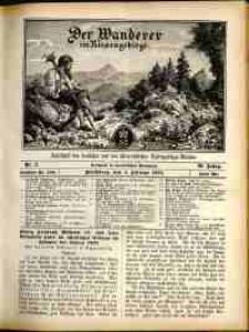 Der Wanderer im Riesengebirge, 1910, nr 2