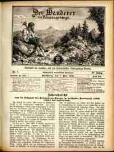 Der Wanderer im Riesengebirge, 1910, nr 5