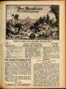 Der Wanderer im Riesengebirge, 1910, nr 8
