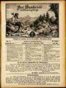 Der Wanderer im Riesengebirge, 1910, nr 11