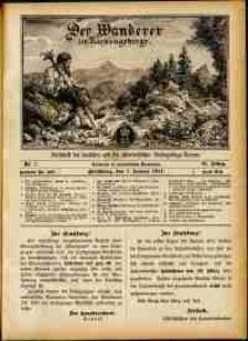 Der Wanderer im Riesengebirge, 1911, nr 1