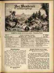 Der Wanderer im Riesengebirge, 1911, nr 2