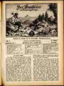 Der Wanderer im Riesengebirge, 1911, nr 8