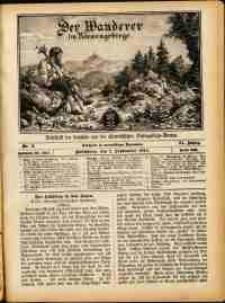 Der Wanderer im Riesengebirge, 1911, nr 9
