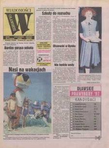 Wiadomości Oławskie, 1997, nr 35 (226)