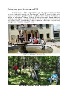 Czerwcowy spacer krajoznawczy 2012 [Dokument elektroniczny]