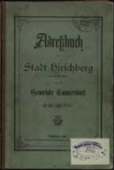 Adressbuch der Stadt Hirschberg in Schlesien für das Jahr 1885 : zusammengestellt nach amtlichen Quellen. 8. Jahrgang