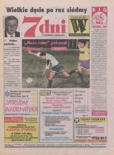 7 dni - Wiadomości Oławskie : tygodnik lokalny, 1998, nr 12 (255)