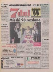 7 dni - Wiadomości Oławskie : tygodnik lokalny, 1998, nr 31 (274)