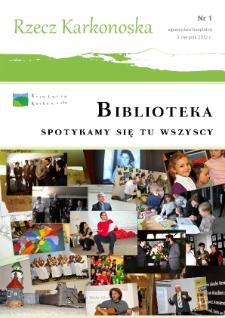 Rzecz Karkonoska, 2012, nr 1 (2) [Dokument elektroniczny]