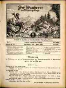 Der Wanderer im Riesengebirge, 1912, nr 5