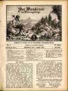 Der Wanderer im Riesengebirge, 1912, nr 8