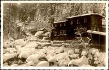 Szklarska Poręba - Wodospad Szklarki, Schronisko Kochanówka [Dokument ikonograficzny]