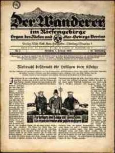Der Wanderer im Riesengebirge, 1926, nr 1