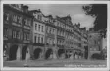 Jelenia Góra - Plac Ratuszowy - kamieniczki [Dokument ikonograficzny]