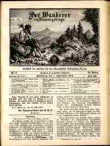 Der Wanderer im Riesengebirge, 1913, nr 9