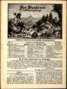 Der Wanderer im Riesengebirge, 1913, nr 11