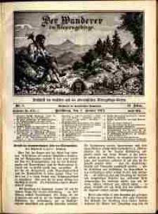 Der Wanderer im Riesengebirge, 1914, nr 1