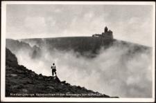 Riesengebirge, Nebelwolken in den Schneegruben 1495 m ü. d. M. [Dokument ikonograficzny]
