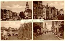 Hirschberg i. Schles. - Markt [Dokument ikonograficzny]
