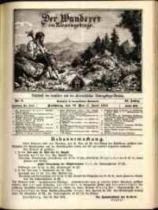 Der Wanderer im Riesengebirge, 1914, nr 6