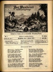 Der Wanderer im Riesengebirge, 1915, nr 1