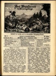 Der Wanderer im Riesengebirge, 1915, nr 9