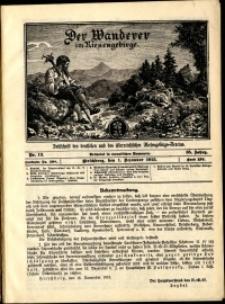 Der Wanderer im Riesengebirge, 1915, nr 12