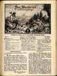 Der Wanderer im Riesengebirge, 1914, nr 7