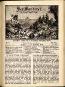 Der Wanderer im Riesengebirge, 1914, nr 9