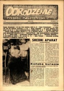 """Odrodzenie : tygodnik publicystyczny NSZZ """"Solidarność"""", 1981, nr 20"""